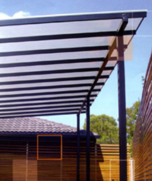 Mulitcell polycarbonate roofing systems by National Patios